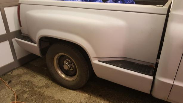 BOX ONLY!!!! 1988 GMC/Chevy shortbox stepside