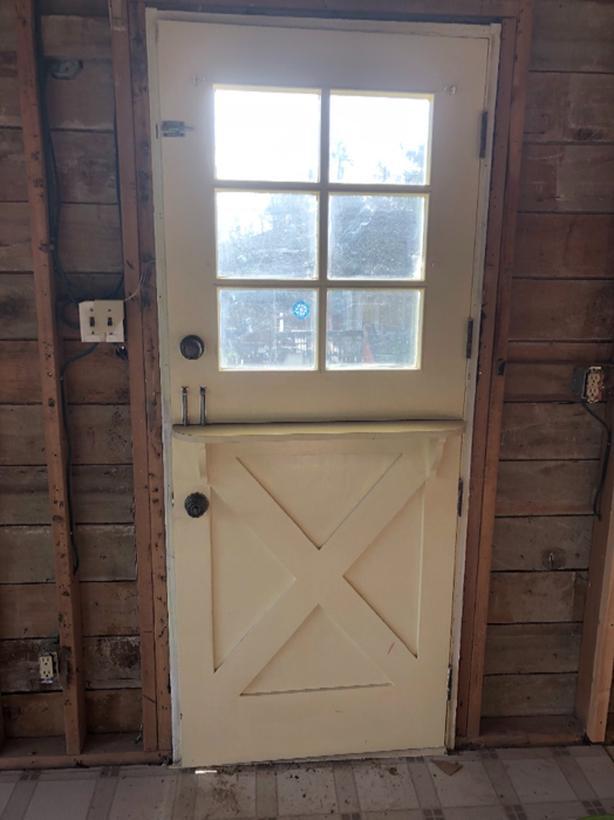 Authentic Solid Wood Dutch Door