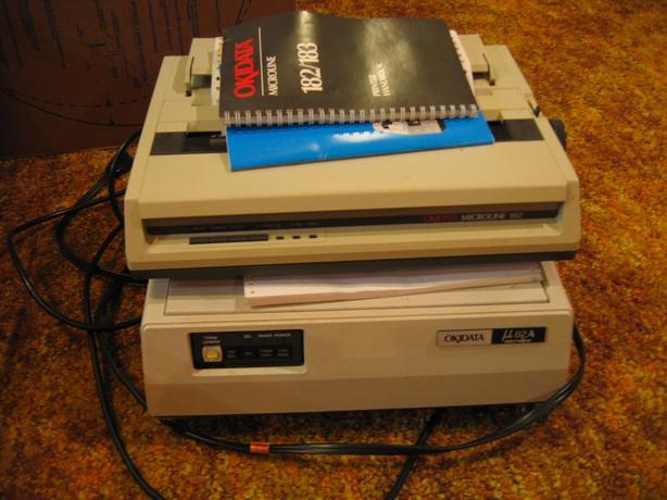FREE: OKIDATA Microline 82A and 182 Printers