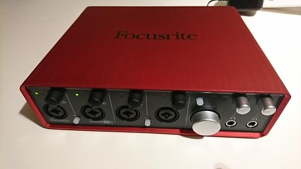 Focusrite Scarlett 18i8 usb audio/midi interface