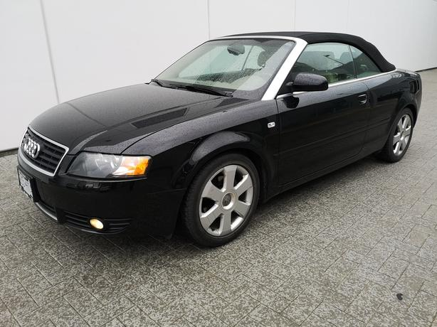 2006 Audi A4 Convertible - Low Mileage One Owner Van Isle Driver