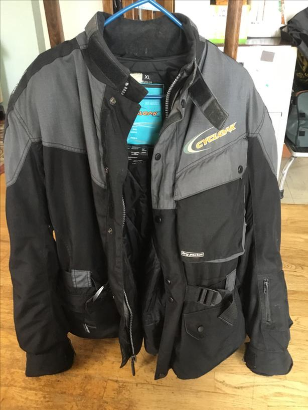 cycloak gore-tex jacket