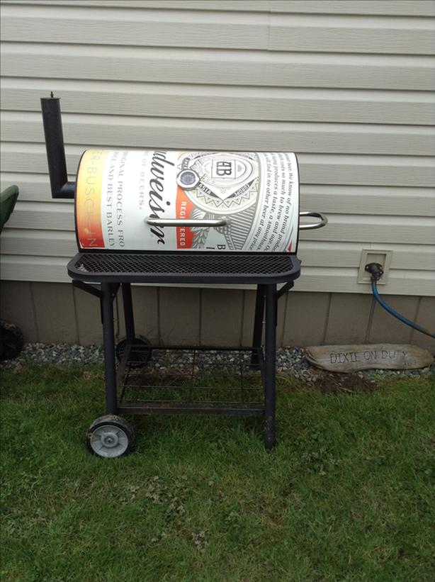 Canned  smoker /BBQ
