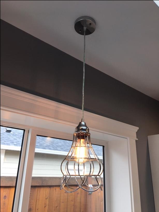 Edison Bulb light fixtures