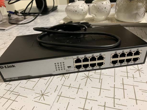 D Link switch