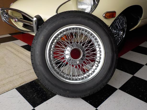 Jaguar E Type Wheels and Tyres