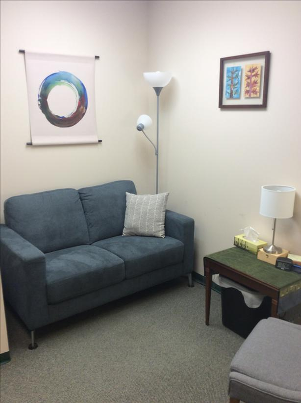 Victoria counselling office for sublet, near downtown