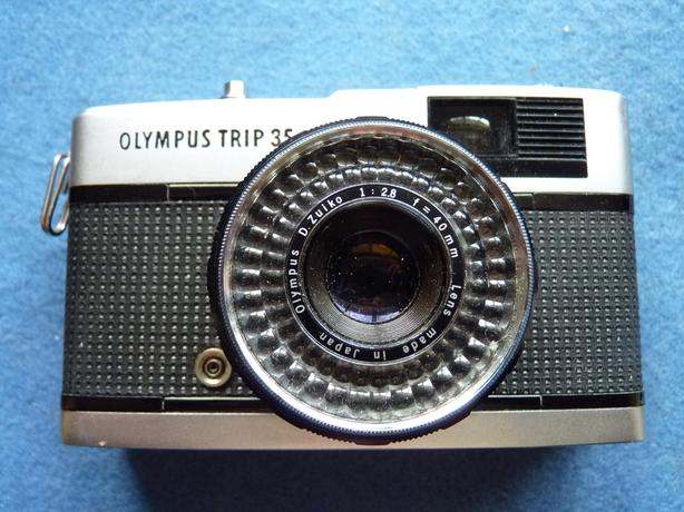 Olympus Trip 35, 35mm film point and shoot camera