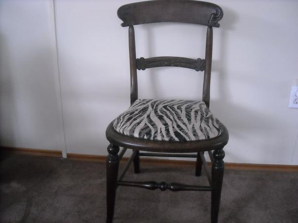 Collectible solid wood chair