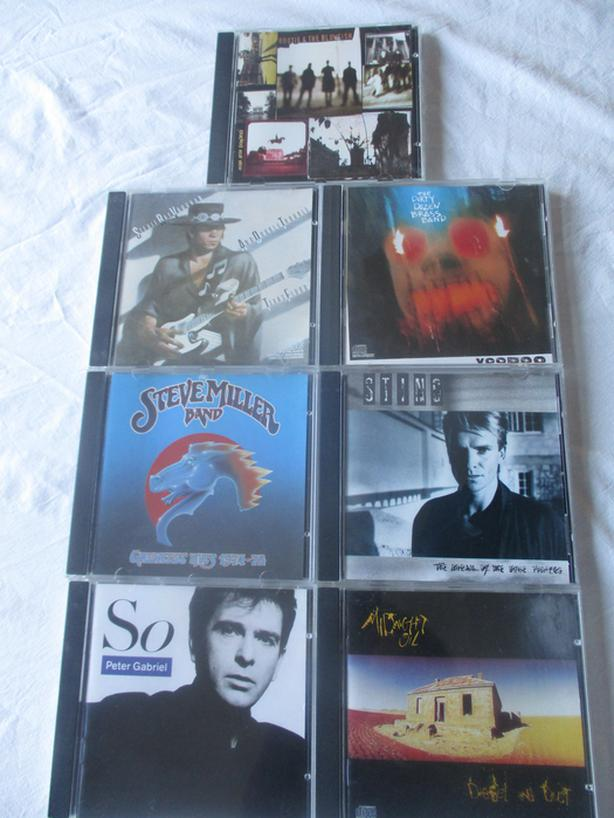 Six Classic Rock CDS - Excellent Condition