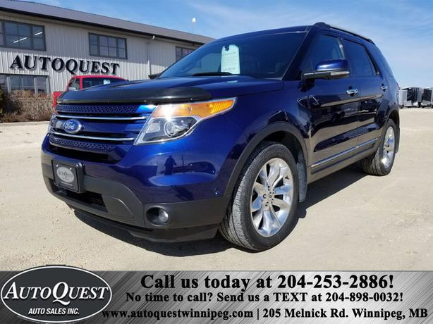 2011 Ford Explorer Ltd - Htd Leather Seats, Dual Sunroof, Remote Start & More!