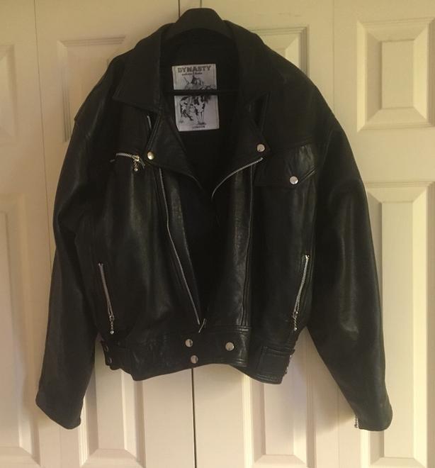 Dynasty Leather (London) Jacket  Ladies Size Large