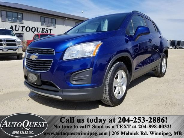 2013 Chevrolet Trax LT 1.4L AWD, Backup Cam, Bluetooth, Rmt Start!