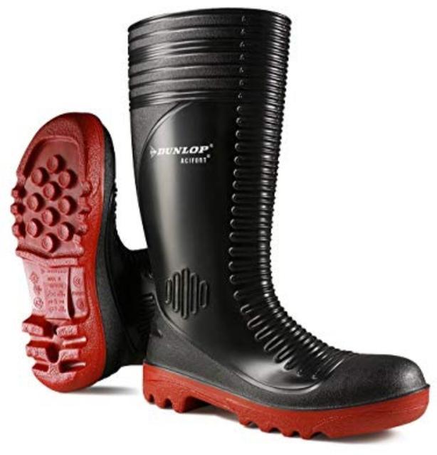 *MINT* Dunlop* Acifort Safety (steel toe) Wellingtons Size 11