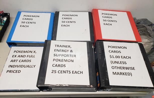 Pokemon Cards for Sale @ Hang & Play Video Games!