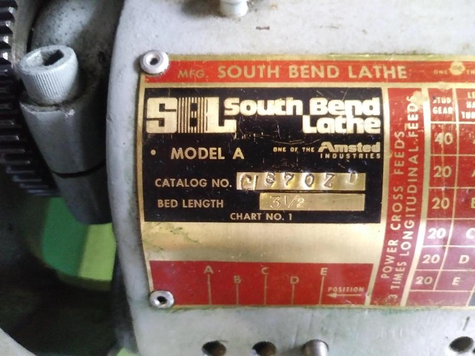 $2,600 · South Bend Lathe