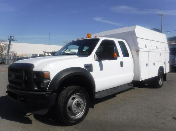 2008 Ford F-550 SuperCab 2WD Dually Service Truck