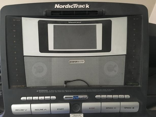 The NordicTrack ViewPoint 3000 TV treadmill