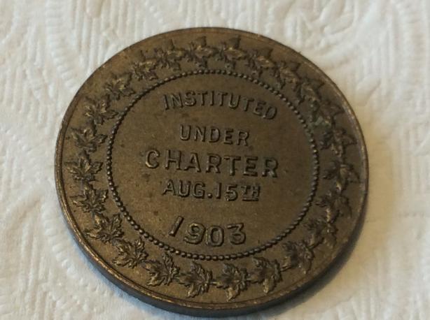 Shriner memorial coin