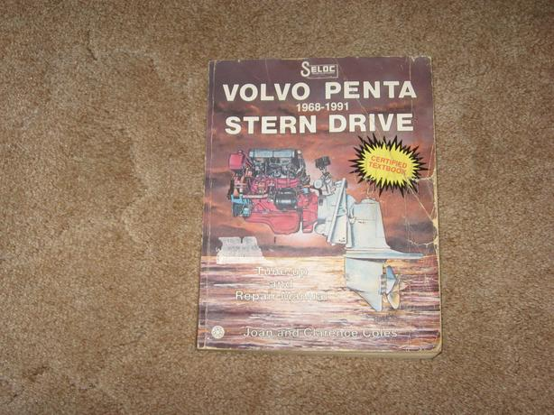 Seloc Volvo Penta 1968 - 1991 Stern Drive repair manual Saanich
