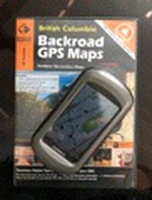 Garmin Oregon 550 GPS with BC Backroad Map