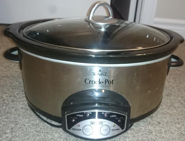 RIVAL Crock-Pot 6-Quart 38601 Smart-Pot Slow Cooker