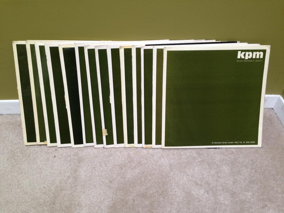 $35 · Lot of 14 KPM Library LP Records