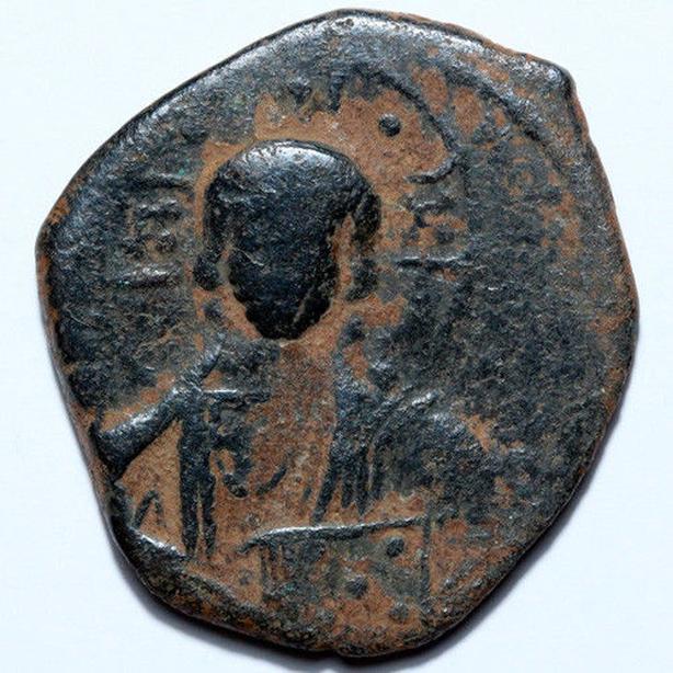 ANCIENT ROMAN JESUS COIN (A)
