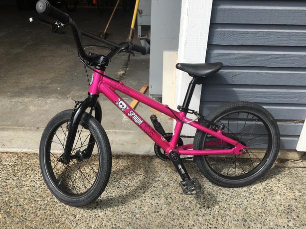 "Spawn Banshee 16"" wheel size"