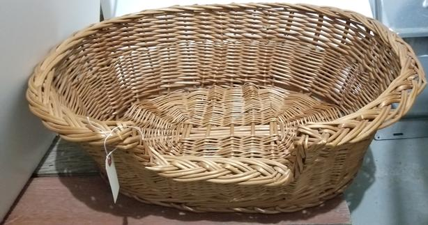 Wicker Cat Basket