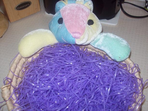 Rainbow Bunny Basket