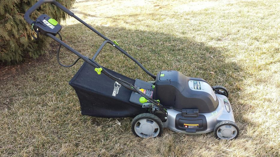 Cordless Lawn Mower East Regina Regina