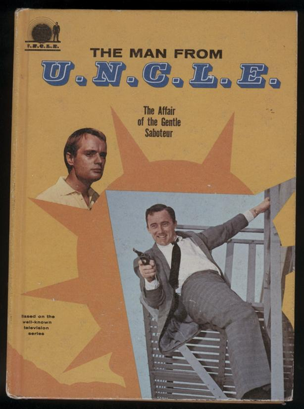 Man From UNCLE Hardcover Book 1966