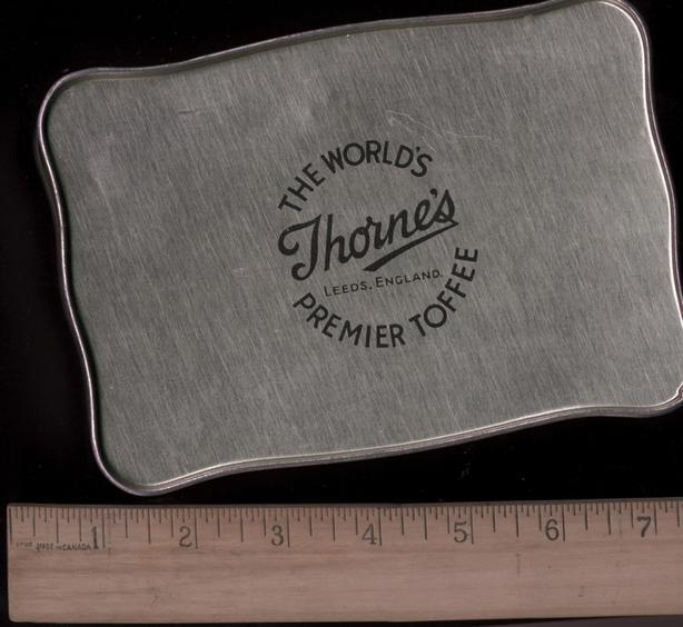 Thorne's Toffee Tin 1940's/ 50's