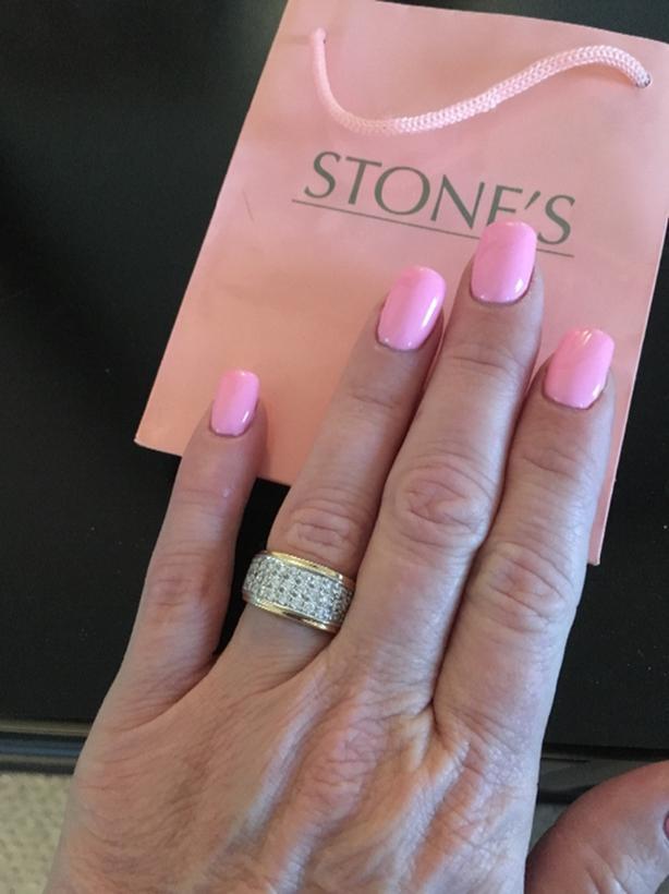 gorgeous 1 qt diamond ring