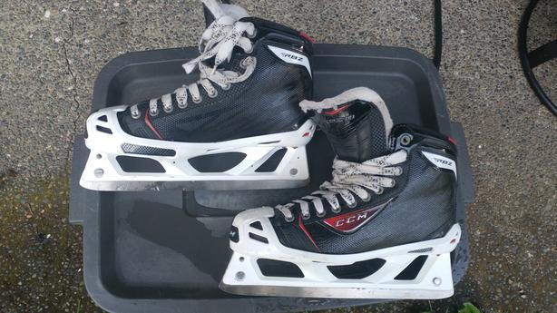 CCM RBZ 80 Goalie Skates