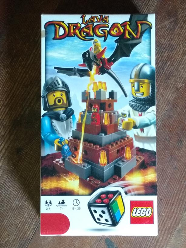 Lego #3838- Lava Dragon game $20