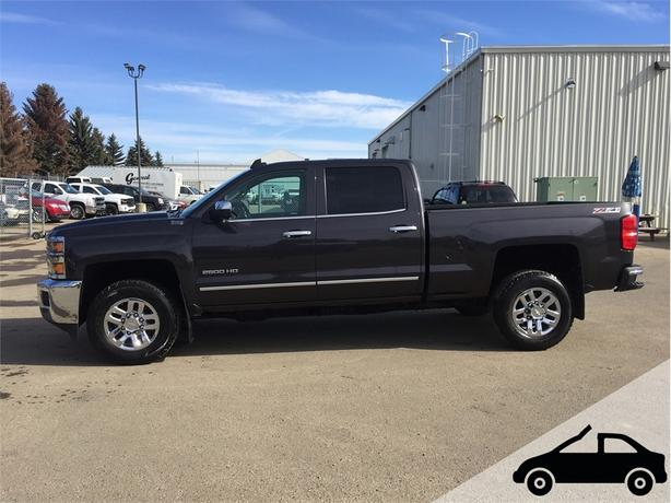 2016 Chevrolet Silverado 2500HD *Sunroof, Heated and Vented Leather*