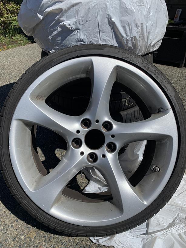 """Rims & tires - 19"""" BMW run flats"""
