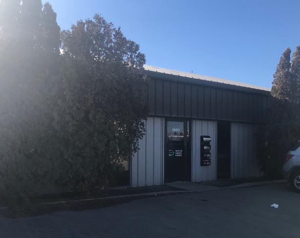Warehouse store front space for lease