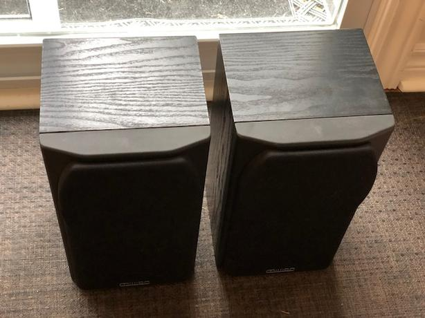 MISSION 731i BOOKSHELF SPEAKERS - Made in UK, Like New