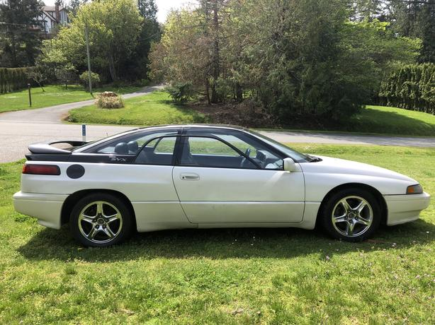 1994 Subaru SVX, brand new tires, 179 km, open to trades