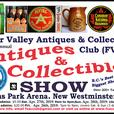 Apr. 26, 27, & 28, 2019 ~ 26th Annual FVACC Antiques & Collectibles Show
