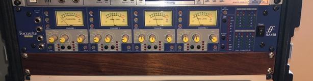  Log In needed $800 · Focusrite ISA428 Pre Pack 4 Channel microphone pre  amp