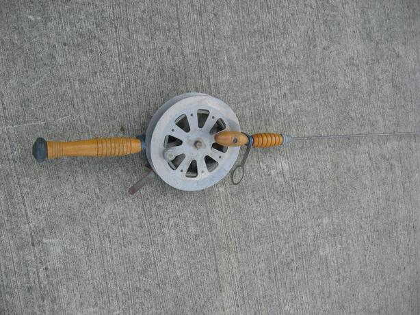 Vintage deep water trolling  Fishing Rod and reel combo