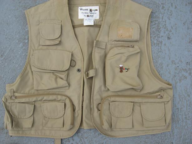 Small fishing vest ideal for kids .