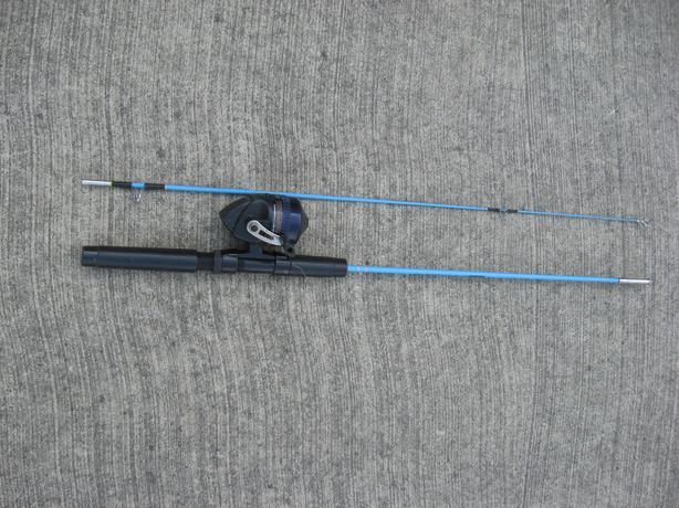 Kids fishing rod and reel