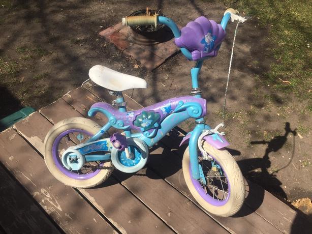 """12"""" Ariel little mermaid bicycle"""