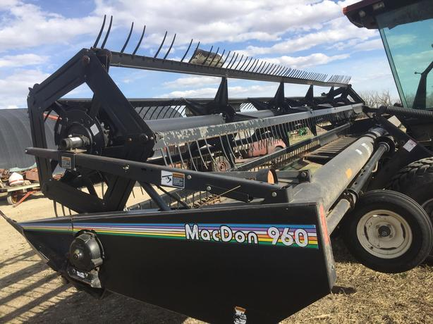 REDUCED - 1994 Premier 2900 Turbo Swather w/ Macdon 960 Header For