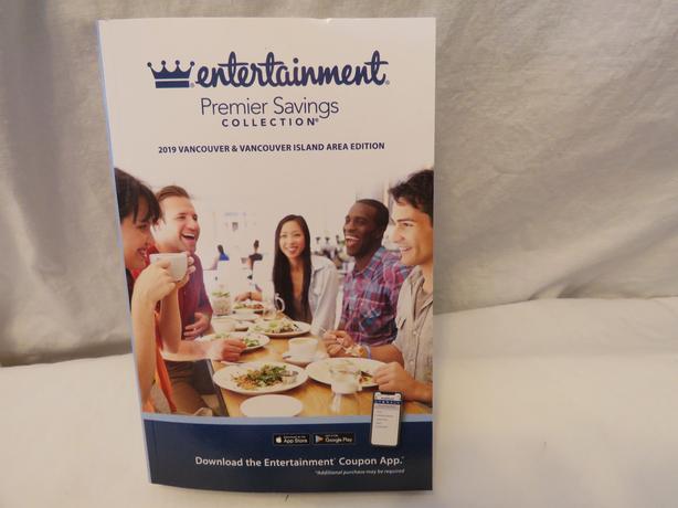 Entertainment   Vancouver Island  & Vancouver 2019  Book
